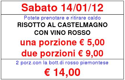 Risotto al Castelmagno con vino rosso